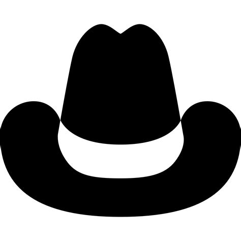 Hat Clip Cowboy Hat Clip Images Black And White