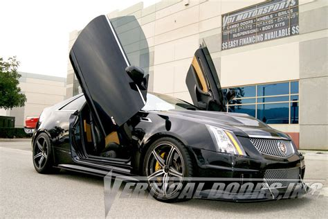Cadillac Cts Coupe 2 Door V Coupe 2008-14 Vertical Doors
