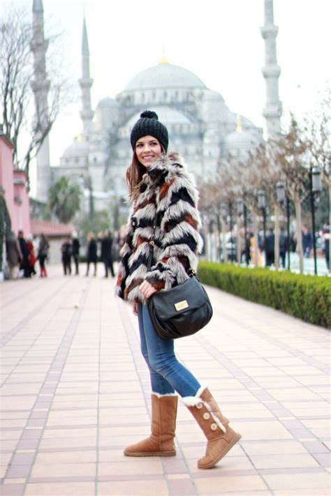 cozy  warm outfit ideas  ugg boots fashionsycom