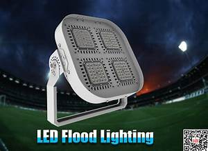 The installation guide of outdoor led flood lightings