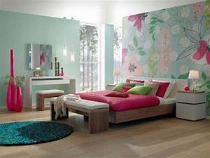 Colorful Girls' Bedroom Interior Design Ideas - Interior ...