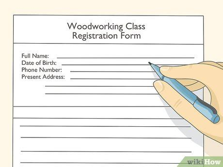 simple ways  learn carpentry wikihow