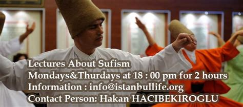sufism lectures  dervish erol  istanbul life