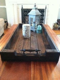large reclaimed dark stained wood serving trayshoe tray