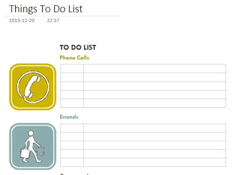 To Do List Evernote Template by Onenote Templates Download Office Onenote Gem Add Ins