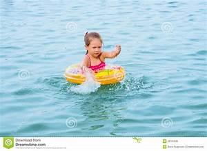 Girl Swimming On The Lake Royalty Free Stock Photos ...