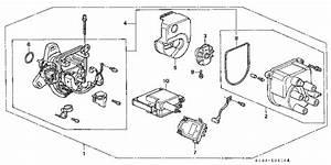Honda Online Store   1998 Crv Distributor  Tec  Parts