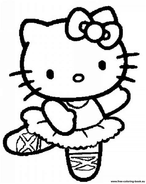 printable  kitty coloring pages coloring home