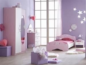 chambre fille rose secret de chambre With chambre petite fille rose