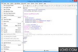 html designer coffeecup free html editor