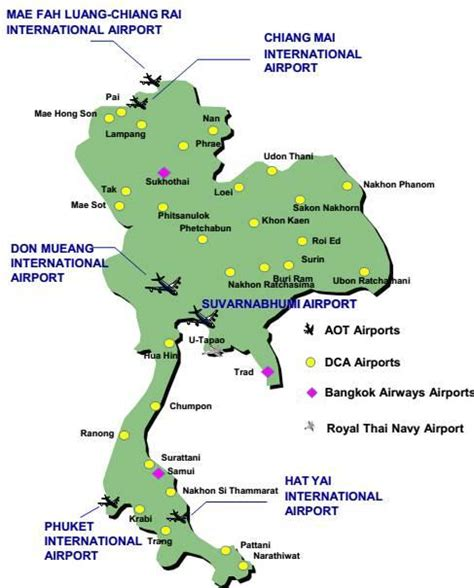 airports  thailand   class airport operator