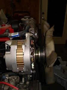 Delco Cs-144 Alternator Installed