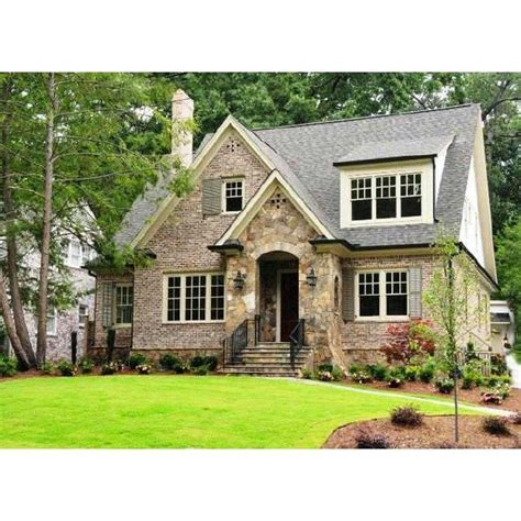 Stone Brick Cottage Style Home