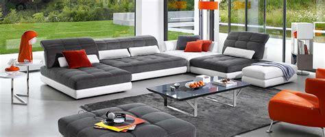 home center canapé canapés d 39 angle en cuir cuir de buffle cuir et tissu