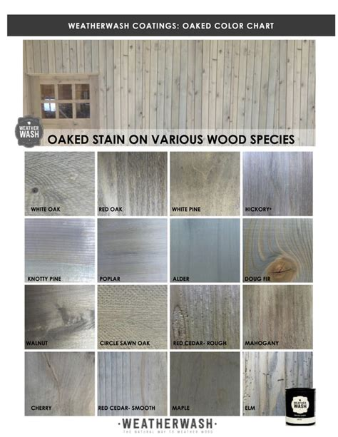 stain oaked weatherwash