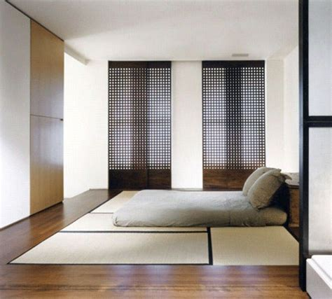 tatami mats japanese bedroom idea