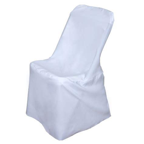 1 Sample LIFETIME FOLDING Chair Cover Polyester Wedding
