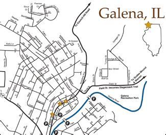 galena illinois map earth map