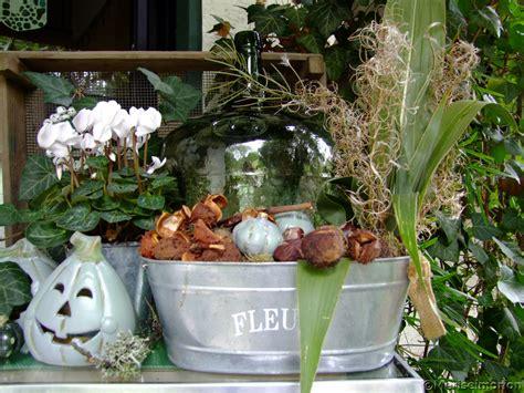 Herbstdeko Am Hauseingang Meriseimorion
