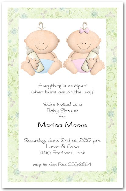 babycakes and boy baby shower invitations