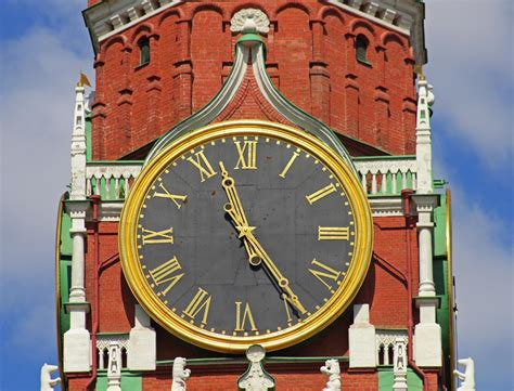 kremlin clock moscow travel guide
