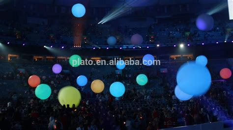 large light up balls event party decoration giant crowd ball giant inflatable