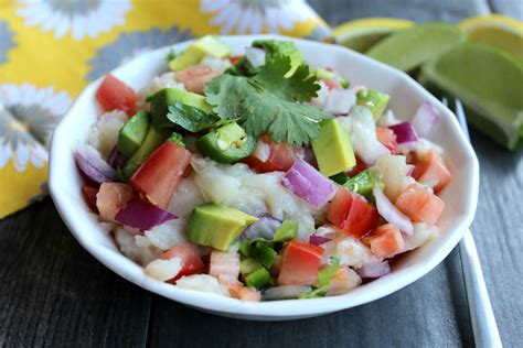 what is in ceviche halibut ceviche