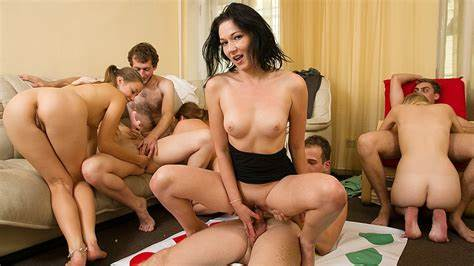Students Gather And Start Insane Gangbang