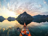 Norway Kayak Fishing Photography