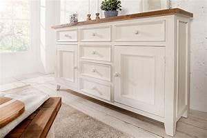 Sideboard Weiß Vintage : hochwertiges sideboard byron 160 cm pinienholz wei vintage braun riess ~ Frokenaadalensverden.com Haus und Dekorationen
