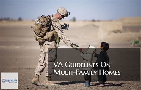 va guidelines  multi family home financing  home purchases