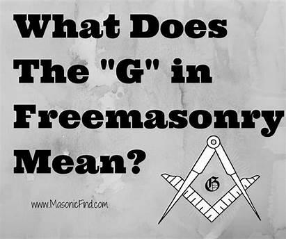 Freemason Freemasonry Masonic Mean Does Symbols Symbol