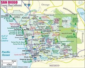 Buy San Diego County Map