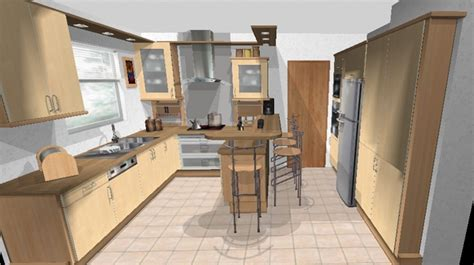 plan meuble cuisine logiciel amenagement maison gratuit 10 plan de cuisine