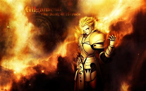 gilgamesh king  heroes fate stay night photo