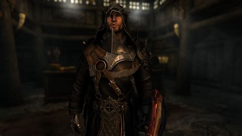 King Crusader Armor Nyclix Enb At Skyrim Special Edition