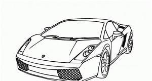 Dibujos De Autos Deportivos Para Colorear Colorear Imgenes