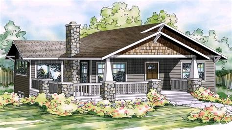 bungalow house plans with front porch one level house plans with front porch luxamcc