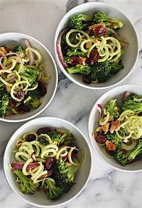 eat clean with this broccoli spirals salad clean food crush