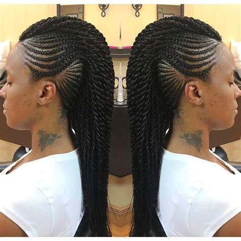 mohawk hair braiding styles mohawk braid hairstyles black braided mohawk hairstyles