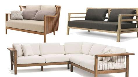 plan canapé bois salon de jardin design meubles d 39 extérieur et astuces d