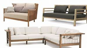 Canape De Jardin Bois : canap pas cher en cuir convertible notre choix de ~ Premium-room.com Idées de Décoration
