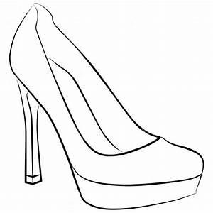high heel shoe design template - fondant high heel shoe template gallery template design