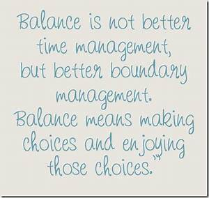 Balance In Life... Balanced Education Quotes