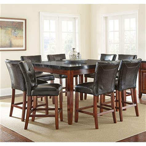 counter height table and 8 chair dining set sam s club