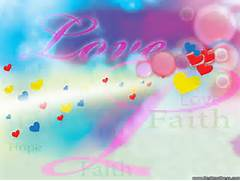 3d Digital Art Backgrounds Love Faith Hope Hillsong Wallpaper
