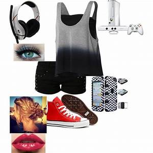 Gamer Girl Outfit 2 | *Just Nerdy Things* | Pinterest | Girl outfits Girls and Clothes