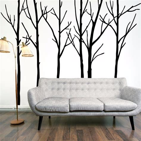 cheap large tree wall decal