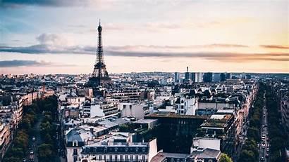 Paris Buildings Architecture France Background Widescreen