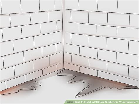 how to install a dricore subfloor in your basement with